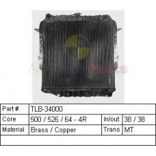 75 Series Diesel radiator