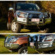 TJM Signature T15 Alloy Bullbar - Holden RC Colorado