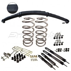 Nissan Patrol GU Cab CHassis Leaf sprung Rear suspension Kit 350